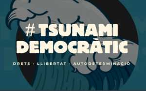 tsunami democratic logo