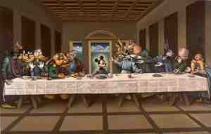 mickeys last supper