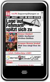 Bild on iPhone