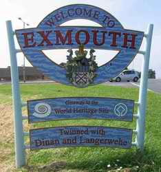 Exmouth sign