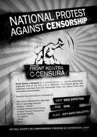 National Protest Against Censorship