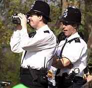 police with camera