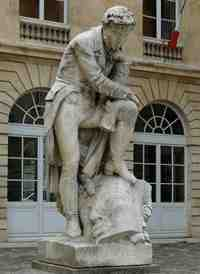 champollion statue in paris