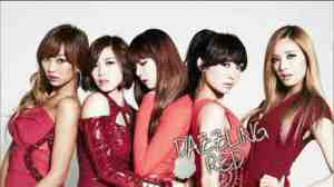 dazzling red k-pop