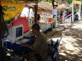 laos internet cafe