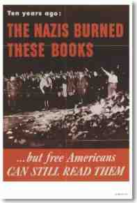 nazi book burners