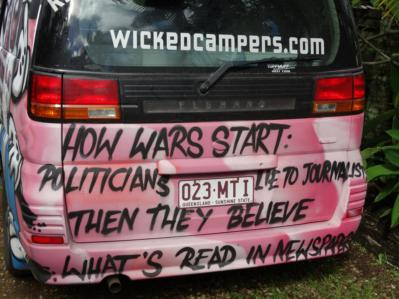 wocker campervan politicians