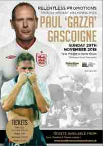 an evening with gascoigne
