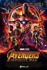 Poster Avengers Infinity War 2018 Anthony Russo and Joe Russo