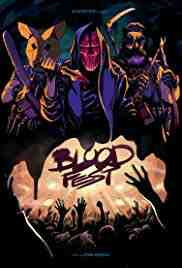 Poster Blood Fest 2018 Owen Egerton