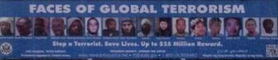 poster faces of global terrorism