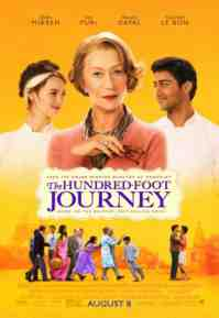 hundred foot journey poster