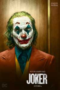 joker happy face poster