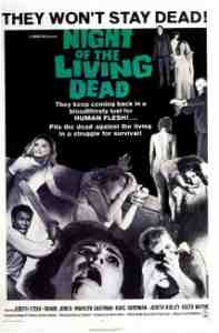 Poster Night of the Living Dead 1968 George a Romero