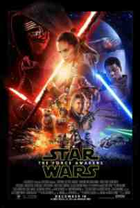 Poster Star Wars the Force Awakens 2015 Jj Abrams