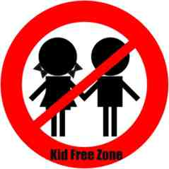 no kids zone