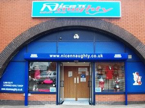 Warrington Nice n Naughty frontage