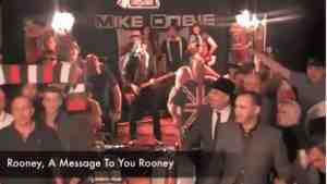 a message to you rooney video